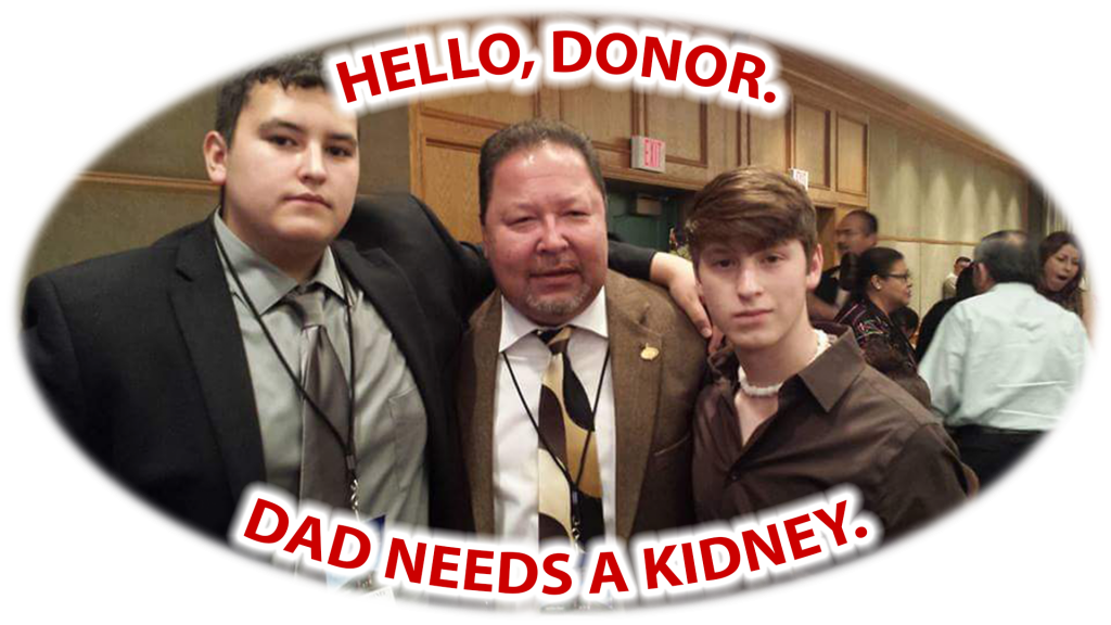 Looking for a kidney donor between the age 20 to 30