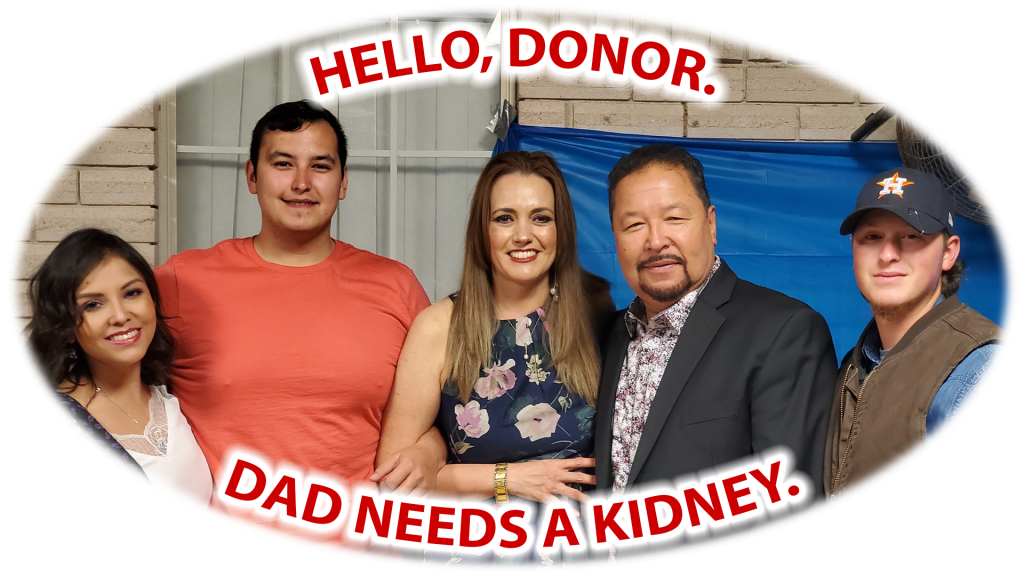 Image of looking for a kidney donor between the age 20 to 31